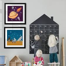 Mega Discount 8dfa19 Cartoon Space Universe Science Nursery Art Canvas Painting Poster Prints Wall Art Pictures For Kids Boys Room Home Decor Gift Cicig Co
