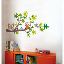 Adzif 53 In X 32 In Multi Color Reading Corner Kids Wall Decal L6022 Ajv5 The Home Depot