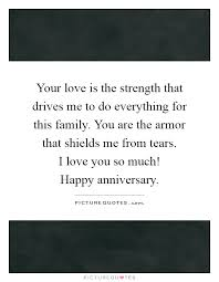 your love is the strength that drives me to do everything for