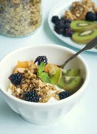 healthy organic homemade tahini granola