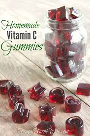 homemade vitamin c gummies the frugal