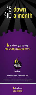 planet fitness digital caign ooh