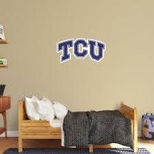 Tcu Horned Frogs Logo Officially Licensed Removable Wall Decal