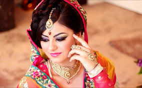 most beautiful bridal makeup in stan