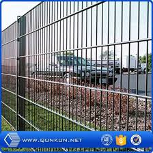China Factory Supply Galvanized And Pvc Coated Garden Wire For Climbing Plants On Sales China Double Wire Fence Wire Mesh Fening