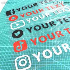Social Media Facebook Twitter Instagram Car Window Bumper Sticker Vinyl Decal Archives Statelegals Staradvertiser Com