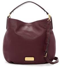 q hillier leather hobo shoulder bag