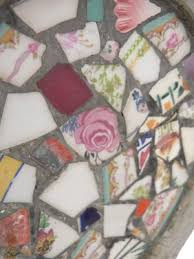 vintage mosaic plant pots set of 2 for