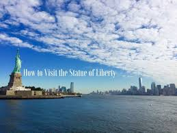 visit the statue of liberty in new york