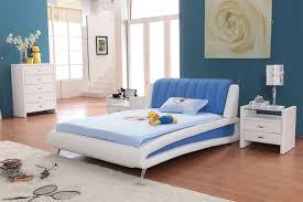 غرف نوم زرقاء اللون المرسال