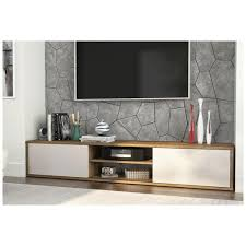 fom 78 tv stand rustic brown