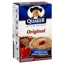 quaker instant oatmeal original