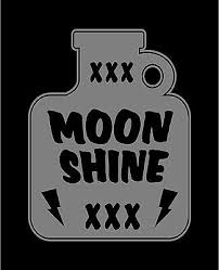 Moonshine Jug Decal Vinyl Car Window Sticker Country Drinking Shine Ebay