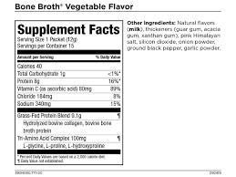 collagen bone broth vitamin c