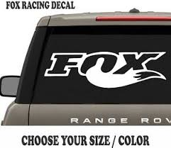 22 Fox Racing Vinyl Decal For Jeep Truck Car Military Hood Body Graphic Ebay