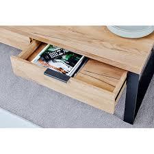 jahnke loop coffee table with storage