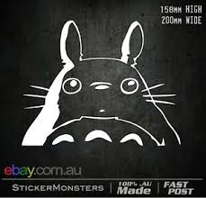 My Neighbor Totoro Stickerdecal 200mmw Mbp Car Wall Art Laptop Pc Movie Ebay