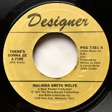 Malinda Smith Wolfe - There's Gonna Be A Fire (1977, Vinyl) | Discogs