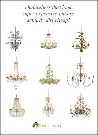 chandeliers that look super expensive