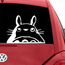 Cartoon Totoro Stickers Voiture Styling Engine Hood Motorcycle Decal Decor Mural Vinyl Covers Autosticker Car Styling Car Stickers Aliexpress