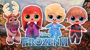 Disney MOVIE with LOL SURPRISE DOLLS ...