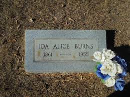 Ida Alice Burns (Patrick) (1861 - 1955) - Genealogy