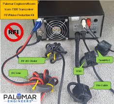 icom ic 7300 transceiver rfi kit 5