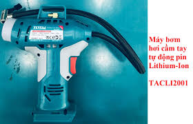 20V Máy bơm hơi tự động dùng pin Total TACLI2001 (KHÔNG KÈM THEO ...