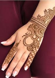 Simple Mehndi Best Mehndi Design Back Side