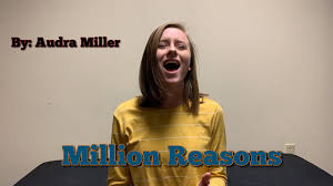 """Million Reasons"""" -Lady Gaga (cover by Audra Miller) - YouTube"""