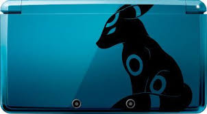 Shiny Umbreon Decal For 3ds Xl More By Draconicdesigns On Etsy 5 95 Shiny Umbreon Pokemon Pokemon Funny