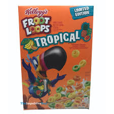 froot loops tropical cereal