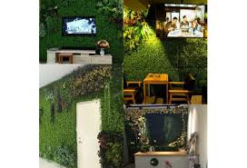 Artificial Ivy Leaf Plastic Garden Screen Rolls Wall Landscaping Fake Turf Plant Wall Background Decorations Garden Fence Artificial Eucalyptus Lawn Wish