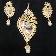 designer pendant earring set at rs 499