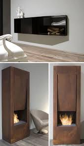 mantel free minimalist gas fireplaces