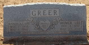 Wanda Adele Carr Greer (1938-1990) - Find A Grave Memorial