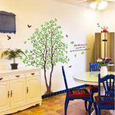 Oversized Tree Wall Decal For Home Removable Wall Stickers Customized Canvas Bags Shoes Gitds Store Wowbackpack Com