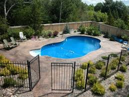 16 Pool Fence Ideas For Your Backyard Awesome Gallery Facebookgoogle Pinteresttumblr Landscaping Around Pool Inground Pool Landscaping Swimming Pools Backyard
