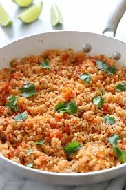 quick mexican brown rice recipe