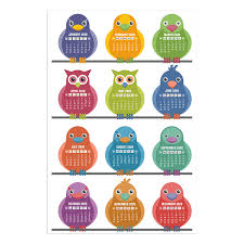 Alter Ego Cute 2020 Wall Calendar Poster For Children In Kids Room 19 X 13 Inch Multicolour Amazon In Home Kitchen