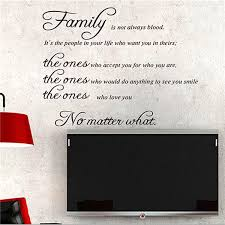 Family Quote Wall Sticker Removable Decal Mural Diy Living Room Art Home Decor Sale Banggood Com