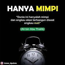ingat hidup hanya sekali dan sementara reminder islamic quotes