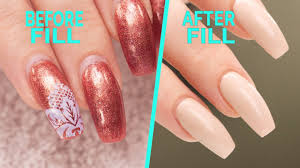 nail fill and rebalance step by step