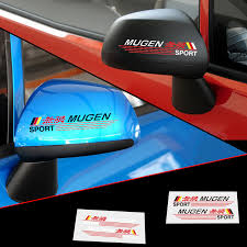 2x Personalised Name Custom Car Wing Mirror Stickers Decals Gtti Gm