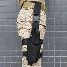 pistol drop leg thigh holster