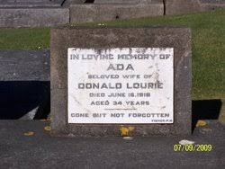 Ada Hall Lourie (1891-1918) - Find A Grave Memorial