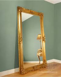 barford large antique mirror gold
