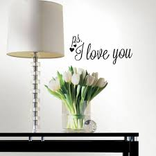Ps I Love You Peel And Stick Wall Decals Peel And Stick Decals The Mural Store