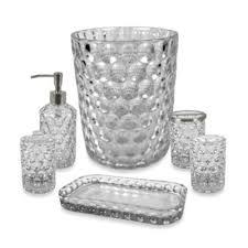 crystal ball glass bathroom accessories