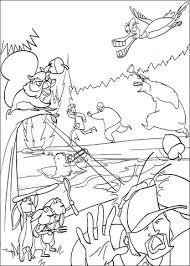 De Dieren Jagen De Jager Weg Kleurplaat Gratis Kleurplaten Printen